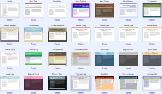 Google-Page-Creator Design