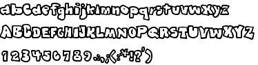 Шрифт Graffiti