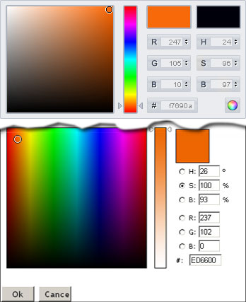 Color Picker Diff